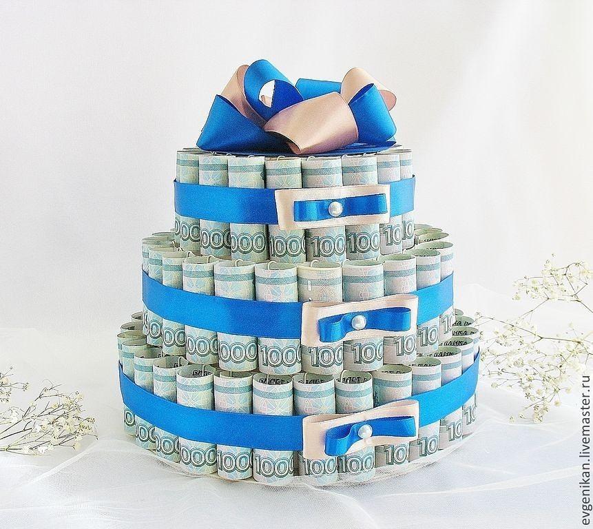 Оригинальный подарок в виде торта 35